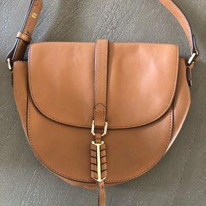 Stella & Dot leather Covet crossbody purse.